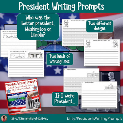 https://www.teacherspayteachers.com/Product/Presidents-Writing-Prompts-5164839?utm_source=blog%20post%20freebies&utm_campaign=Presidents%20Writing%20Prompts