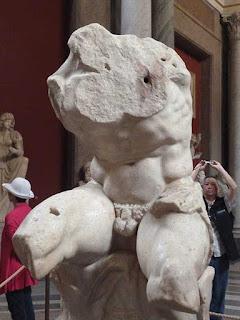 museus vaticanos torso belvedere - Dez Curiosidades sobre o teto da Capela Sistina