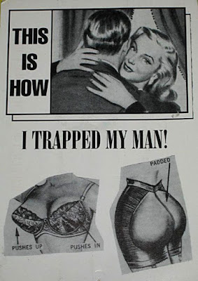 This is how I trapped my man
