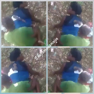 Video: A Nursing Mother Backing Her Baby Did This...... 3