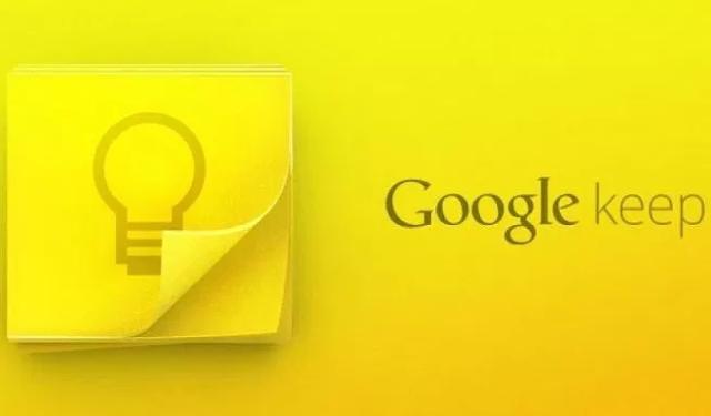 تطبيق Google Keep يصل إلى 500 مليون عملية تثبيت على متجر Play