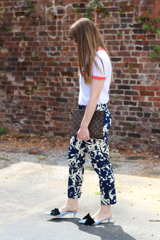 Summer Outfits- Floral Pants