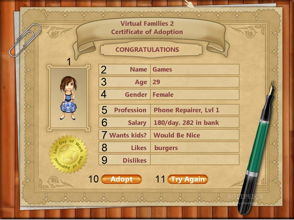 House design virtual families 2 - Personagem Do Virtual Families 2