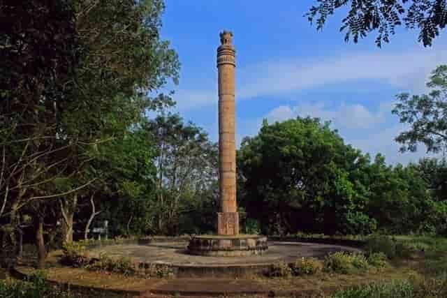 Ashok Pillar, Sanchi