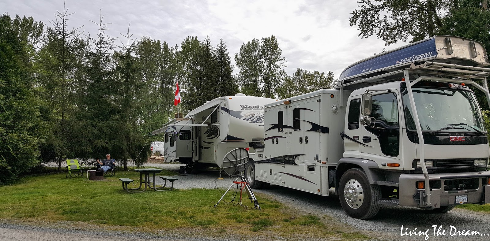 Living The Dream Friday May 4 To 11 2018 Fort 50 Amp Service For Rv 20180504 184331