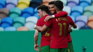 Euro 2020: Fernandes, Ronaldo fire Portugal to convert Israel in warm-up