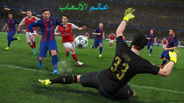 تحميل لعبة Pro Evolution Soccer 2017 للكمبيوتر بحجم صغير