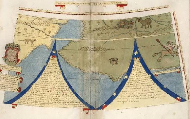 Keunikan Peta Dunia Jaman Renaisans