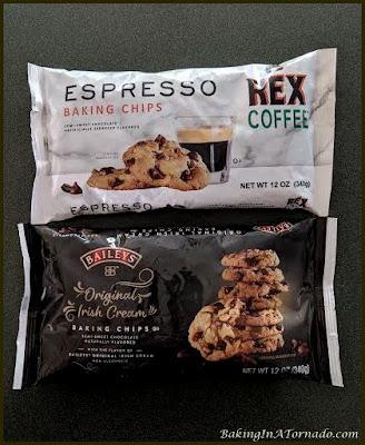 Espresso Truffle Cookies ingredients   Recipe developed by www.BakingInATornado.com