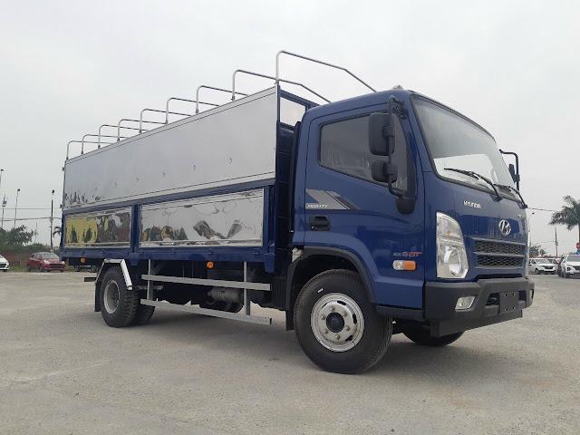Giá lăn bánh xe tải Hyundai EX8 GTS2 thùng bạt