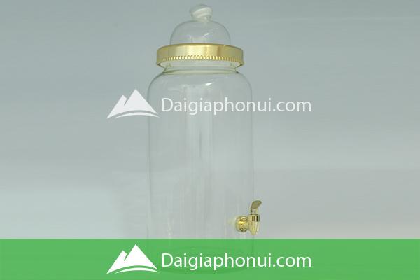 Bình Ngâm Rượu Việt Nam (Phú Hòa Glass) Lai Trụ & Bầu - Dai Gia Pho Nui