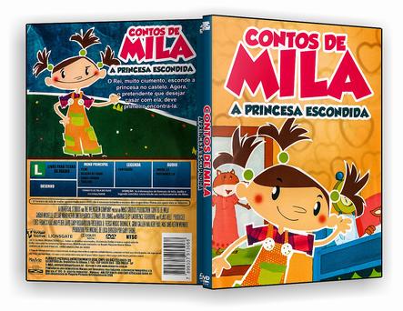 DVD - Contos De Mila A Princesa Escondida 2019 - ISO