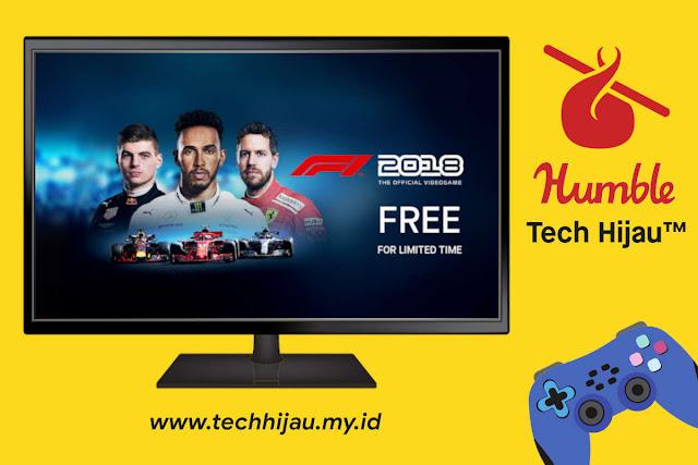 Tech Hijau™ Game F1 2018 PC Gratis Humble Bundle