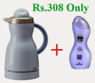 Get Milton Brown Hot Pot Flask (1000 Ml) worth Rs.418 for Rs.249 Only at Snapdeal