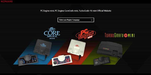 Konami Mengumumkan TurboGrafx-16/PC Engine mini Console