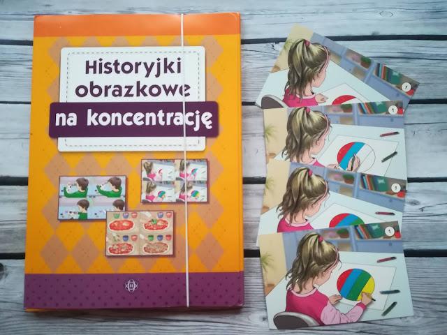 Historyjki obrazkowe na koncentrację
