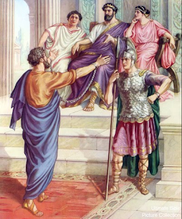 Paul before King Agrippa - Artist unknown