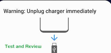 Samsung Warning: Unplug charger immediately