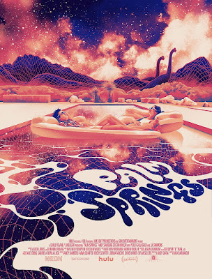 Palm Springs Screen Print by Matt Taylor x Mondo