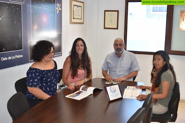 La Reserva Mundial de la Biosfera La Palma acoge en prácticas a dos nuevas alumnas de máster universitario