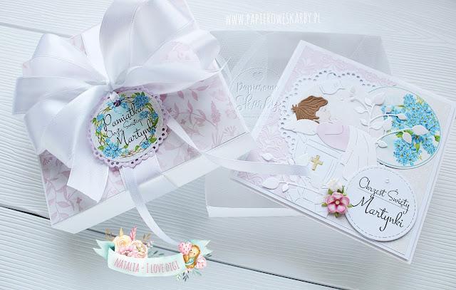 scrapbooking cardmaking rękodzieło handmade card cards babtism chrzest kartka karteczna na chrzest święty pamiątka chrztu dla dziecka ręcznie robiona wykonana ilovedigi digi stempel w pudełku prezent pieniężny na pieniążki pieniądze kieszeń kieszonka dziecko dziewczynka chłopczyk dziewczynki chłopczyka