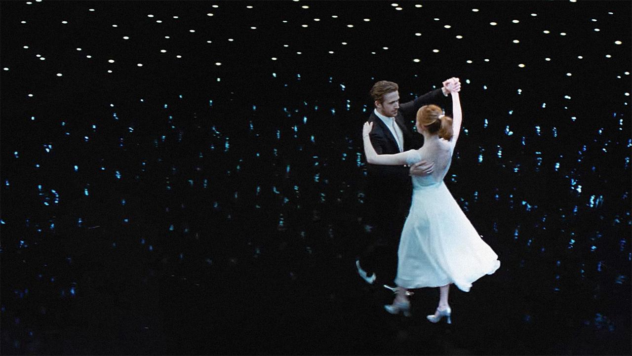LA LA LAND -pelicula - Ryan Gosling y Emma Stone - estrellas