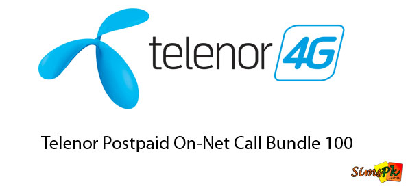 Telenor Postpaid On-Net Call Bundle 250 bundle 550 bundle 100