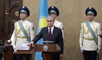 Tokayev sworn in as The President of Kazakhstan