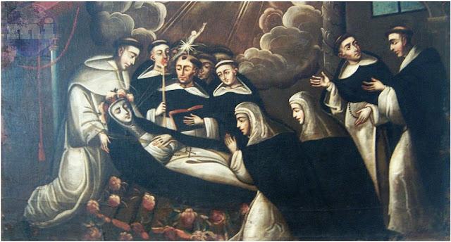 Muerte de Santa Rosa de Lima