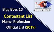 Bigg Boss Season 13 Contestants: Name Pics Salary (Official List 2019)