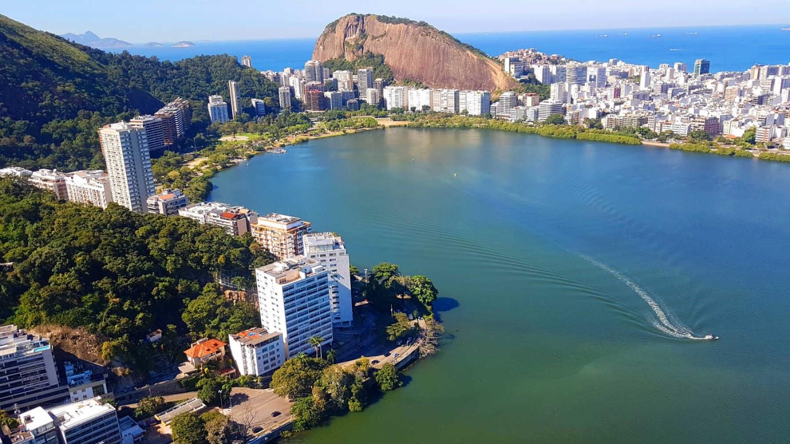 Lagoa Rodrigo de Freitas,RJ.