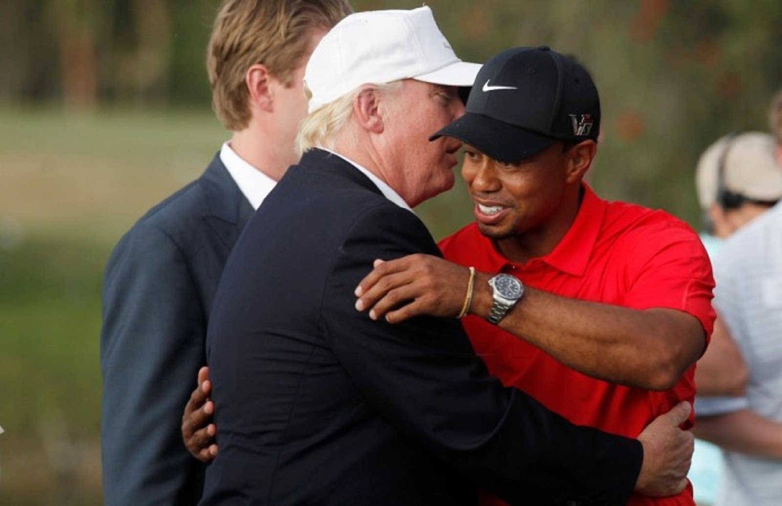 TIGER WOODS, DONALD TRUMP 4