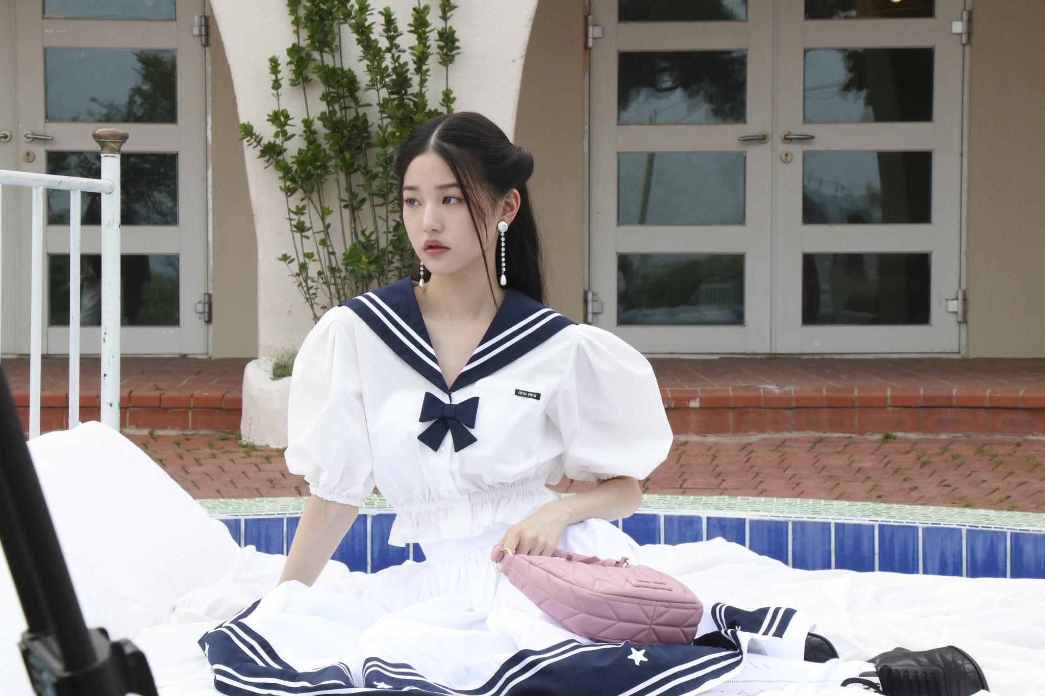 장원영 VOGUE x MIU MIU 영상 촬영 비하인드 - 꾸르