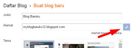 Cara Membuat Blog Di Blogger.com