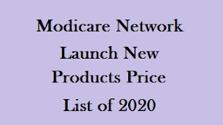 Modicare Launch New Products Price List