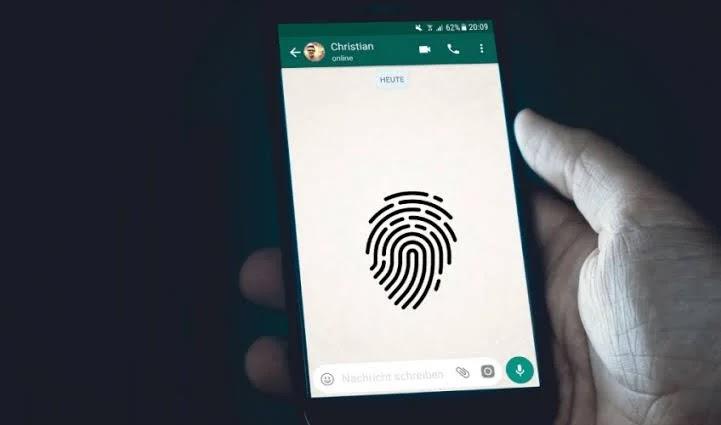 finger lock whatsapp - फिंगर लॉक
