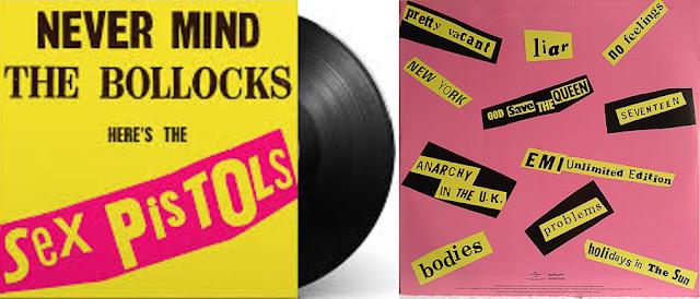 Disco Never Mind the Bollocks, dos Sex Pistols