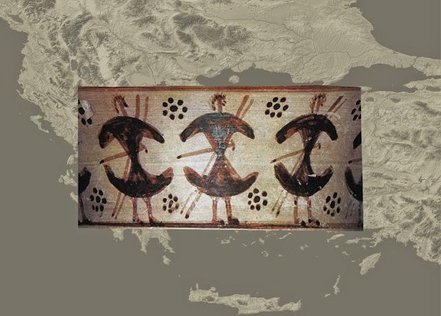 Οι μετακινήσεις των Ελλήνων στην Υπομυκηναϊκή και Γεωμετρική περίοδο