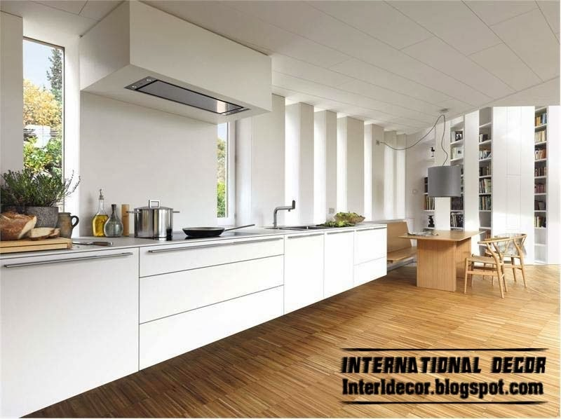kitchen design ideas white cabinets. Modern White Kitchen Designs And Ideas  Cabinets Elegant