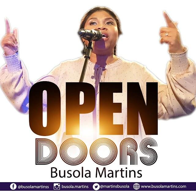 NEW MUSIC: Busola Martins returns with a new single 'Open Doors' || @martinsbusola