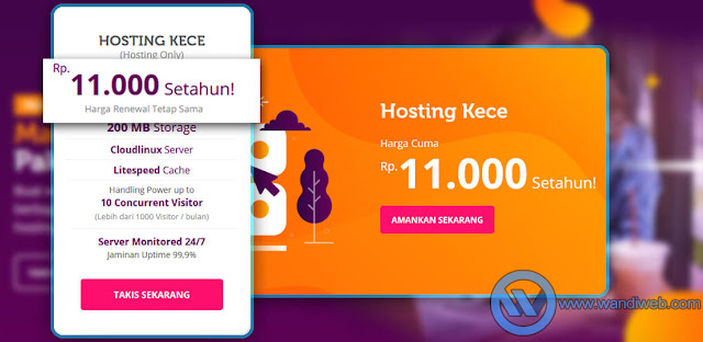 Review Mini Hosting dari Jagoan Hosting - WandiWeb