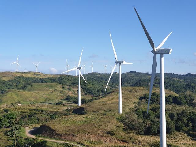 Pililla, Rizal Windmill with 27 turbines