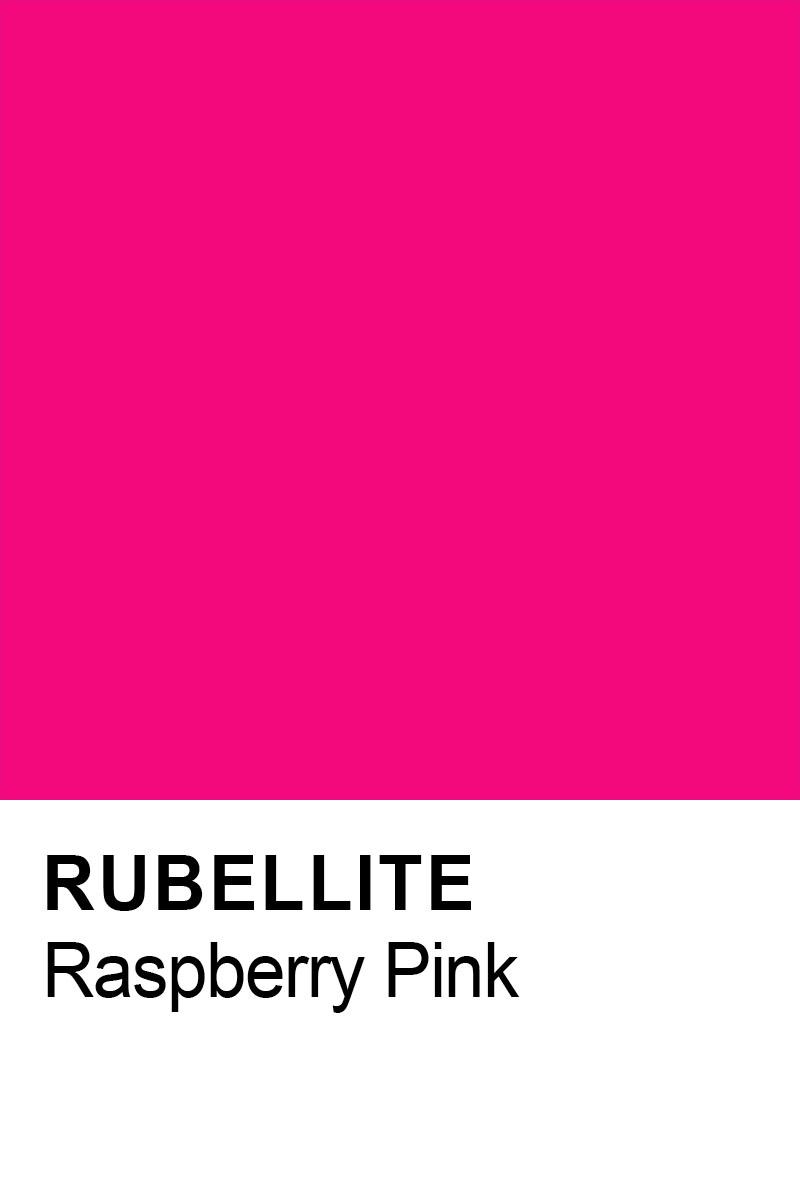 Rubellite raspberry pink