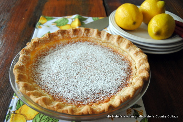 Nana's Lemon Pie at Miz Helen's Country Cottage