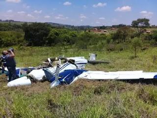 Empresário paraibano morre em queda de avião em São Paulo