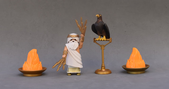 PLAYMOBIL CUSTOM FIGURE ANCIENT GREECE ZEUS