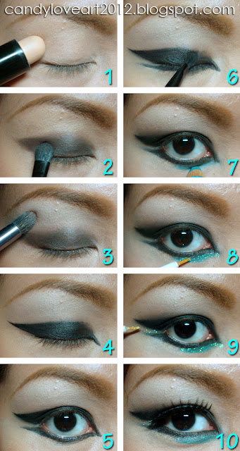 Candyloveart My Cl Of 2ne1 Makeup Tutorial