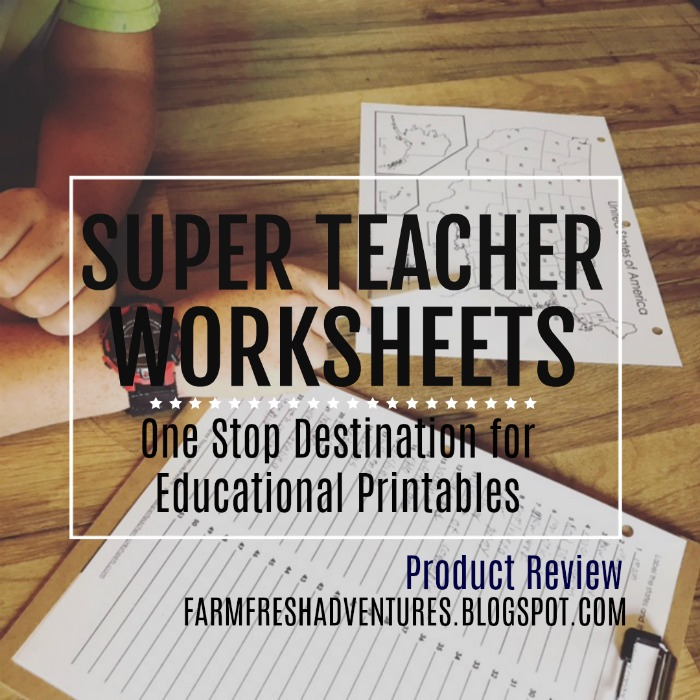 Farm Fresh Adventures: Revisiting Super Teacher Worksheets: One Stop ...