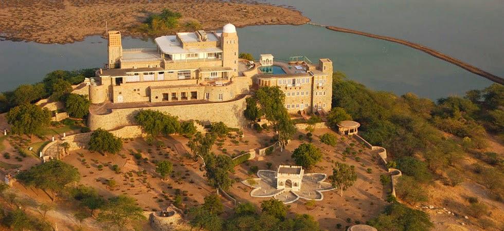 Balsamand Lake Palace in Jodhpur, Rajasthan