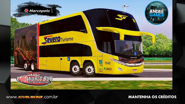 PARADISO G7 1800 DD 8X2 - VIAÇÃO SEVERO TURISMO